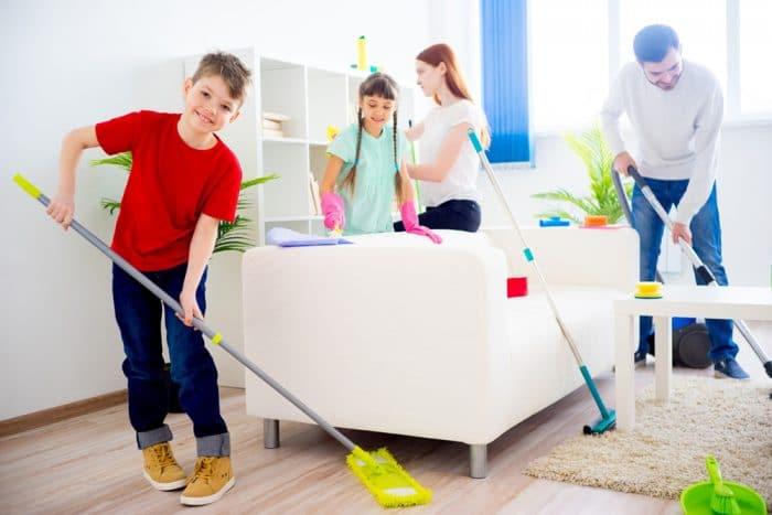 tareas domésticas toda familia