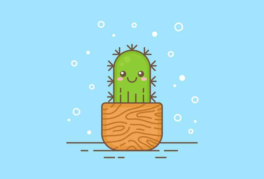 Imagina que eres un cactus