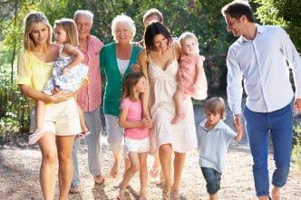 Vida familiar sin estres relacional