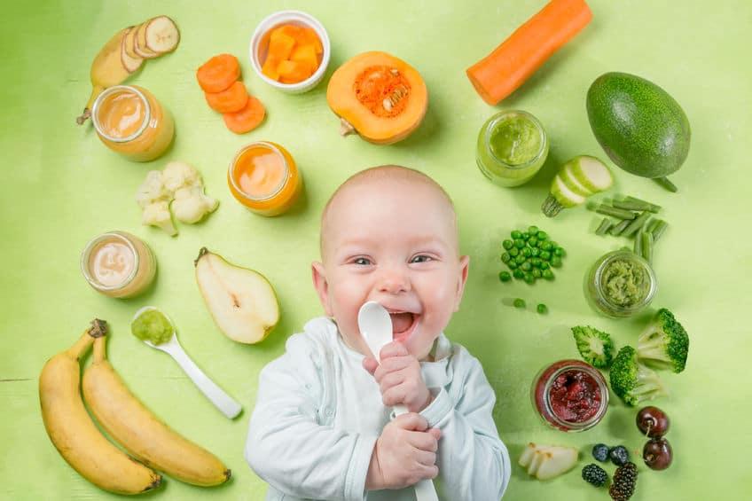 Plan para introducir nuevos alimentos en la dieta del bebé - Etapa Infantil