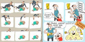 maternidad viñetas