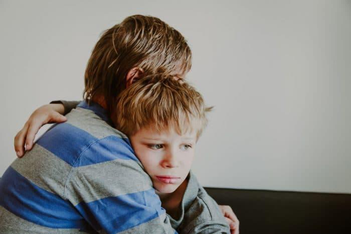 desintegración familiar niños