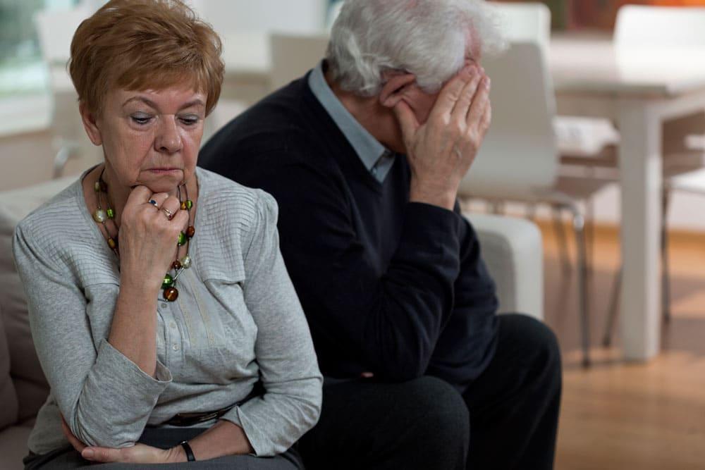Un matrimonio de muchos años, ¿también puede acabar en divorcio?