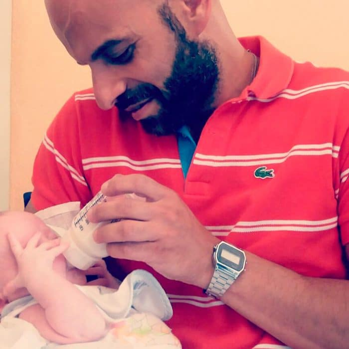 Luca adopta bebé Síndrome de Down