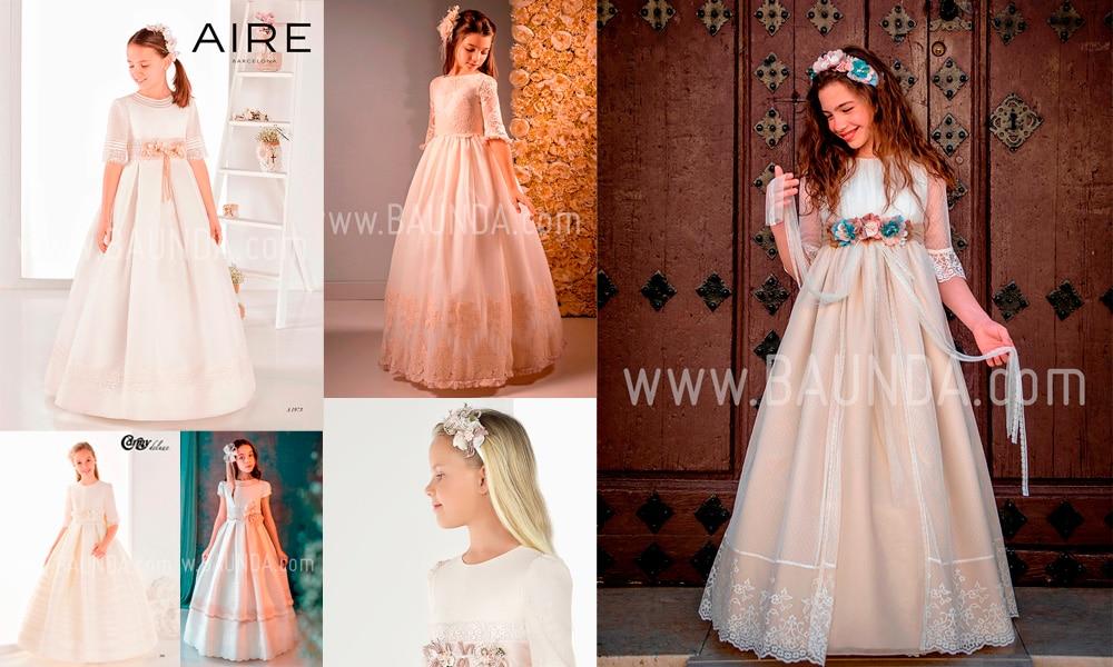Vestidos y complementos que te enamorarán para la Primera Comunión de tu hija