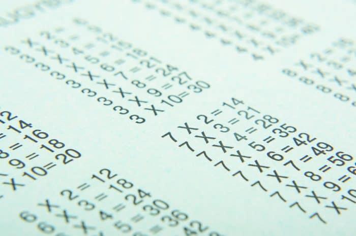 Ejercicios de multiplicaciones