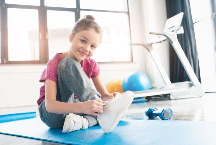 Ejercicios sencillos para niños