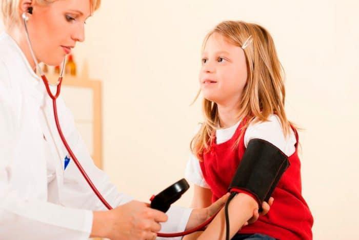 Presión arterial para niños de 8 años