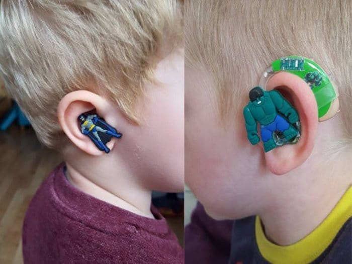 Audífonos de superhéroespara niños