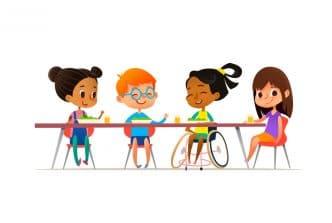 burlarse niños discapacitados