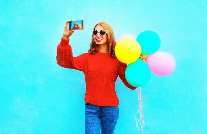 Adolescentes selfies
