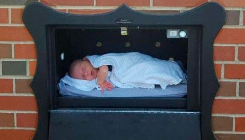 """""""Baby boxes"""": una forma de abandonar a los bebés no deseados"""