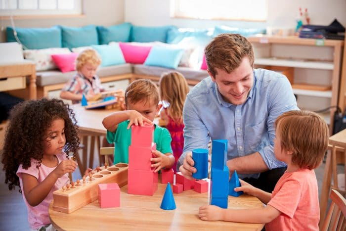 Beneficios metodo Montessori