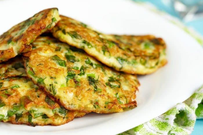 Receta Tortitas de verduras