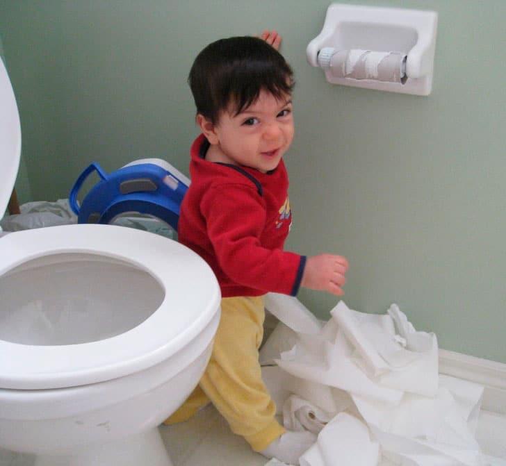 Ya no queda más papel higiénico