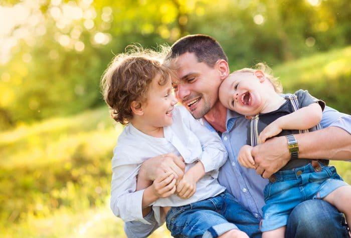Padres crianza hijos