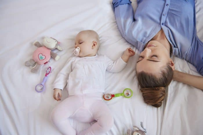 dormir padres hijos