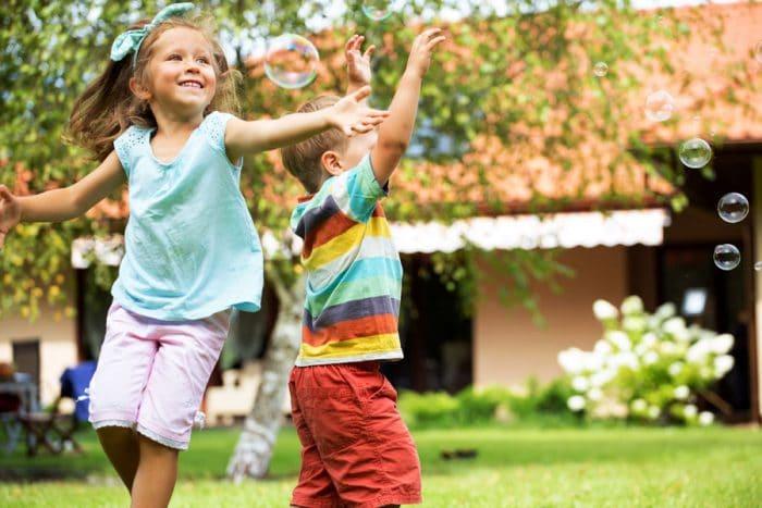Actividad extraescolar parque