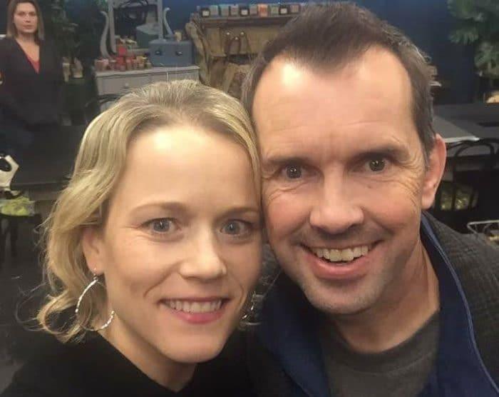 Celeste Erlach y su marido