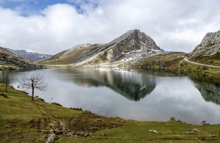 Lago Enol, en Lagos de Covadonga
