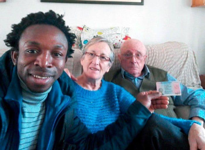 Ousman Umar familia padres