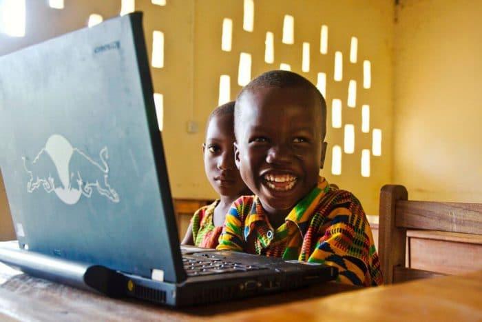 Educación niños Ghana