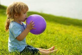 Niños globos