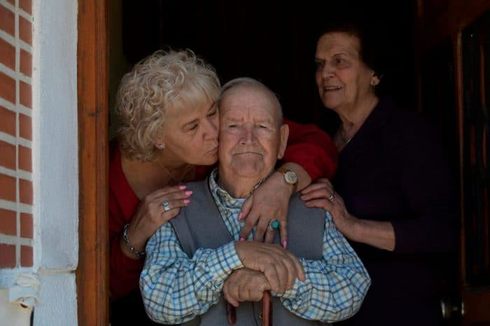 Martin de la Torre Muñoz y su familia
