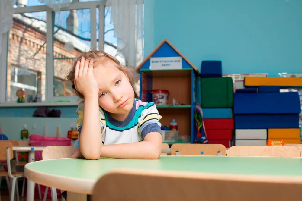 El tiempo medio de concentración de los niños según su edad