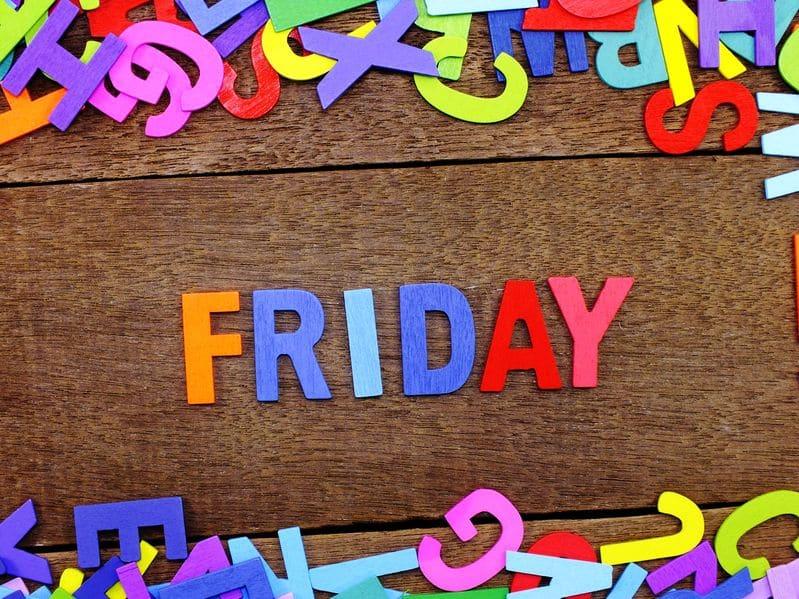 Los días de la semana en inglés para los niños