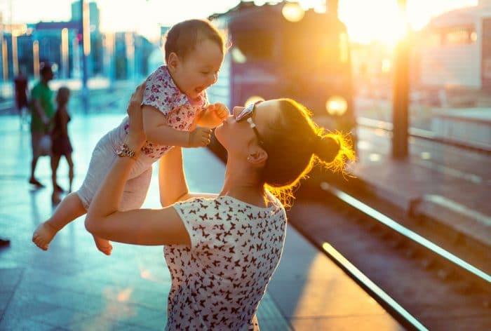 madre buenos hábitos salud mental