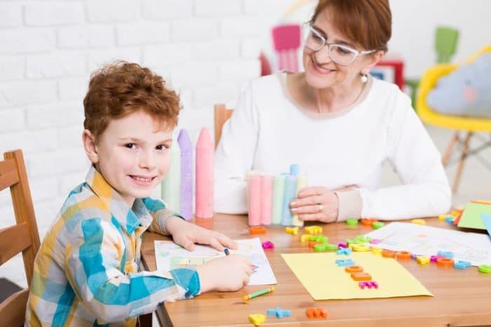 Tiempo de atención en niños por edades