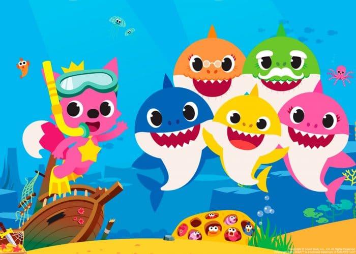 Baby Shark serie TV Nickelodeon