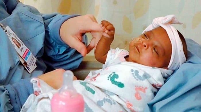 El bebé más prematuro del mundo