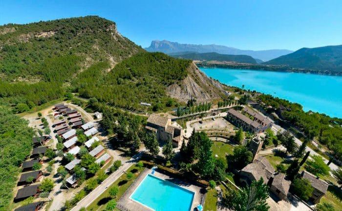 Camping Morillo de Tou, en Morillo de Tou, Huesca Pirineo