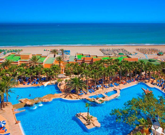 Playacapricho Hotel, en Roquetas de Mar, Almería