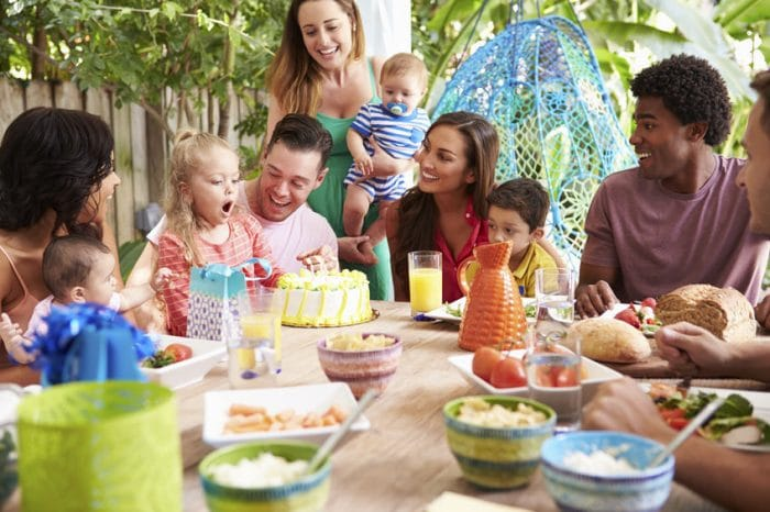 Nunca dejes de celebrar el cumpleaños de tu hijo