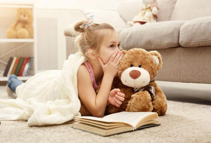 Rincón de calma y relajación infantil
