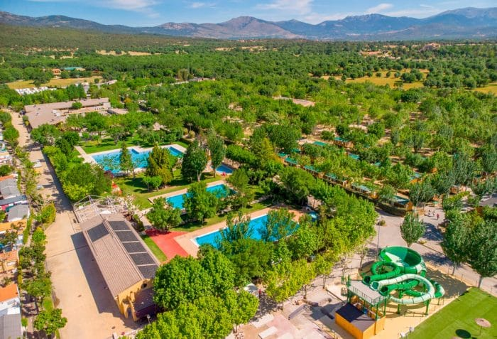 Camping El Escorial, en El Escorial, Madrid