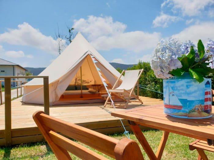 Camping Rinlo Costa, en Rinlo, Lugo, Galicia
