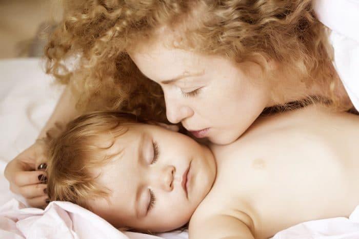 Carta hijo beso mientras dormías