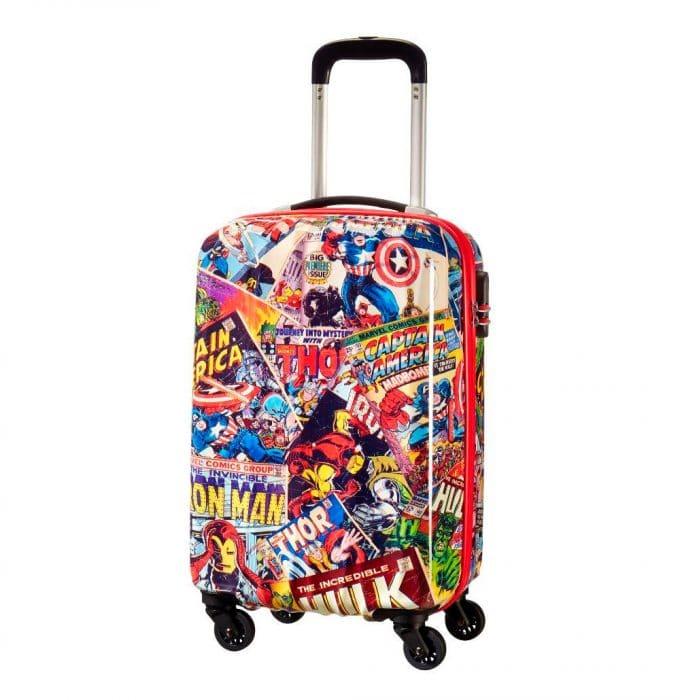 Maleta de viaje para niños Marvel Legends Spinner, de American Tourister