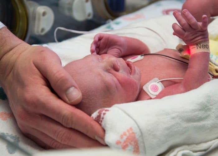 bebé trasplante uterino donante fallecida