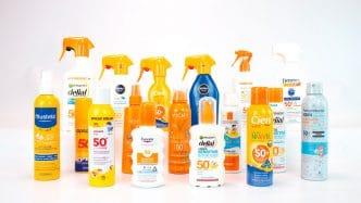 Cremas de protección solar para niños