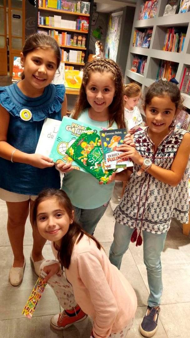 Club lectura niñas