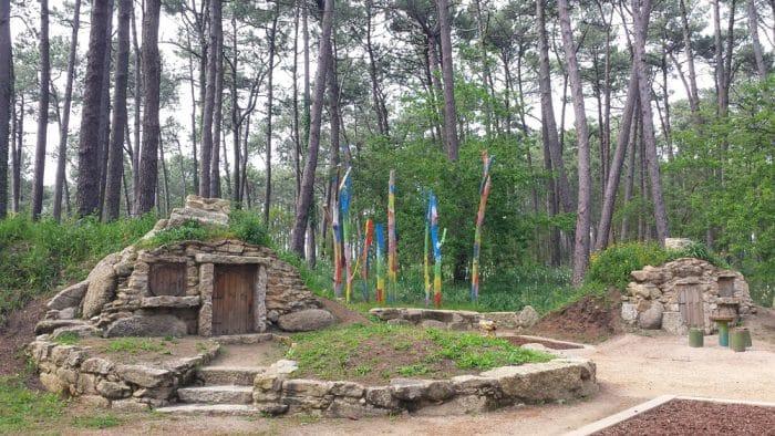 Parque La Aldea de los Grobits, en O Grove, Pontevedra