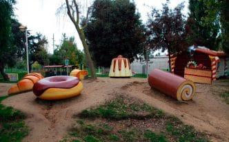 Parque Francesc Macià, en Malgrat de Mar, Barcelona