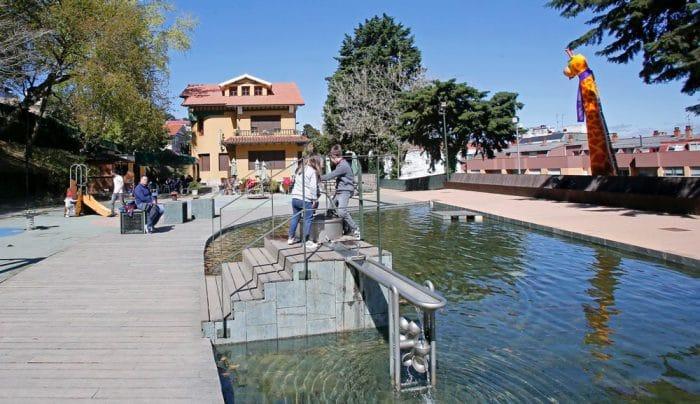 Parque de los sentidos, en Marín, Pontevedra