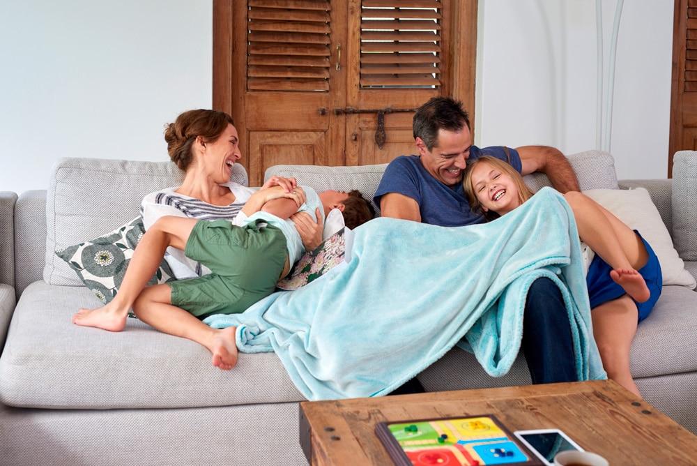 Llegar a casa y estar en familia es tenerlo todo en la vida