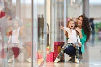 infeliz compras consumismo